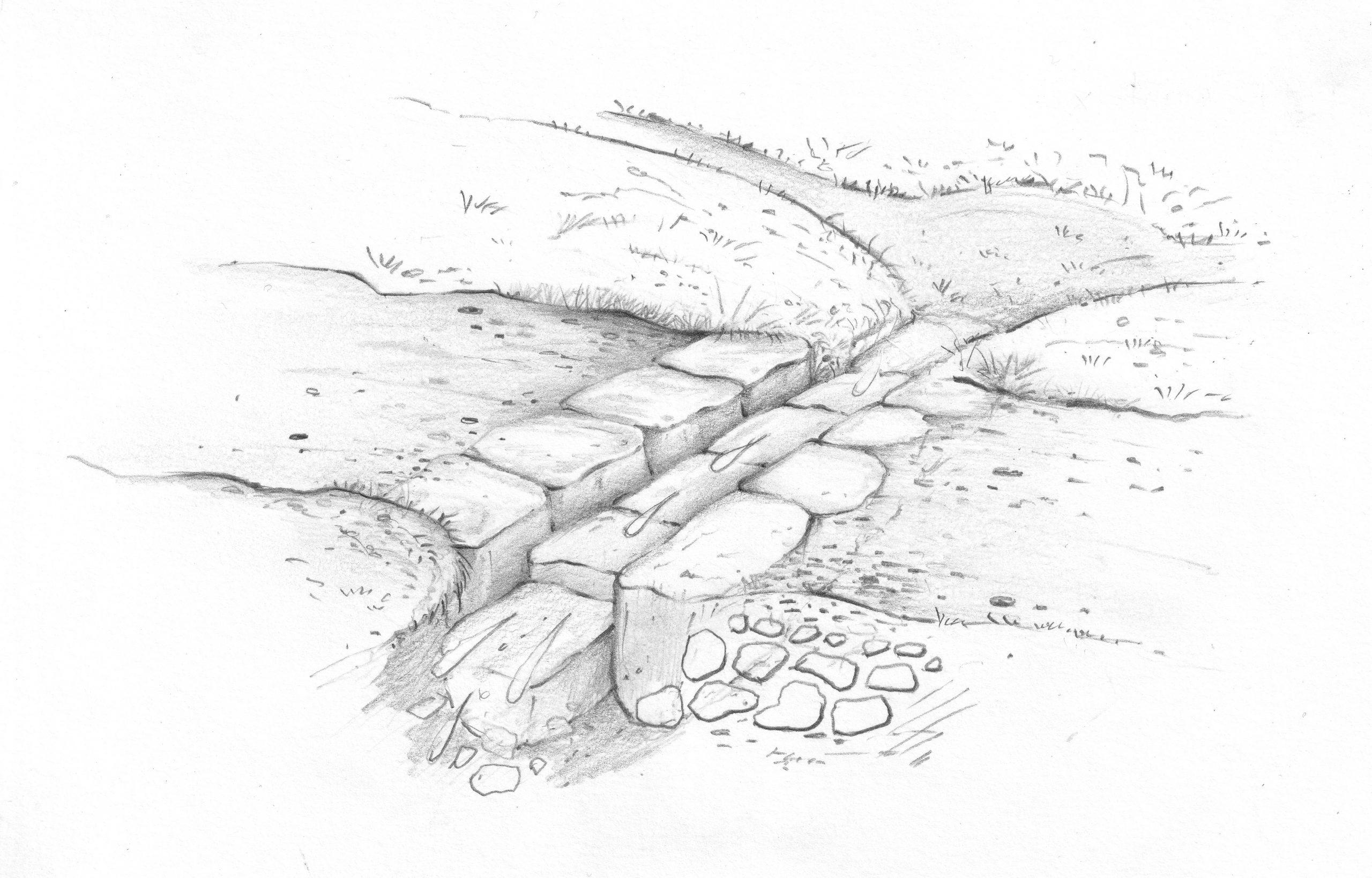 Opið steinræsi
